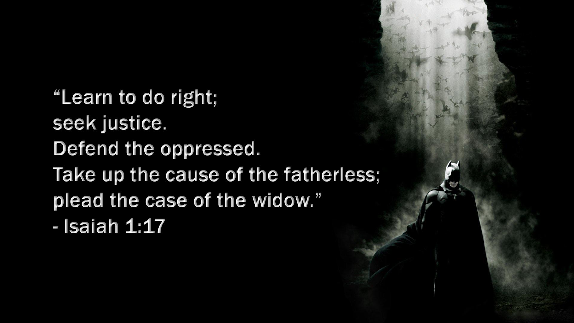 The Dark Knight Rises And Isaiah 117 The Adam Burdeshaw Blog